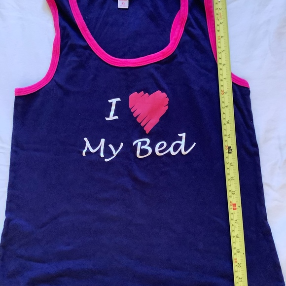 Tops - I love my bed tank size 2x
